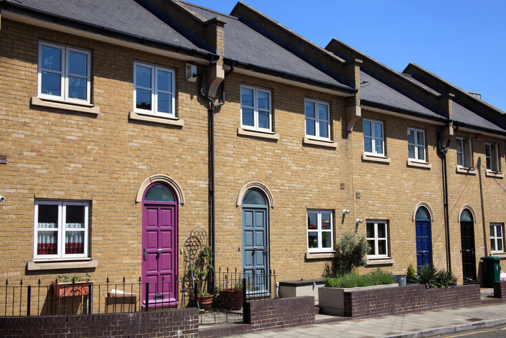 Modern New Terraced Houses
