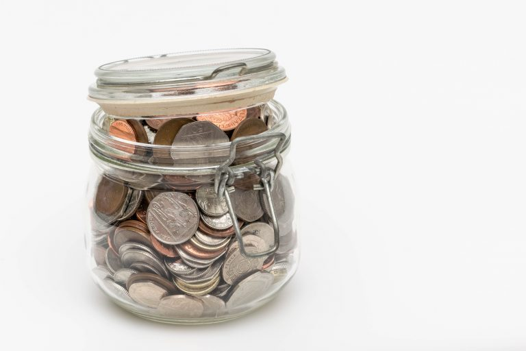 Pocket Money Jar to add to ISA